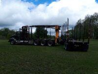 2011 International Prostar Log Loader Picker Truck