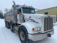 2012 Peterbilt 367 Tri Axle Dump Truck