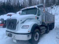 2017 International HX615 Spiff Tri Axle Dump Truck